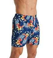 Tommy Bahama Large Floral 100% Cotton Woven Boxer 2171316