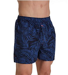 Tommy Bahama Big Man Midnight Leaves Cotton Woven Boxer 71507XB