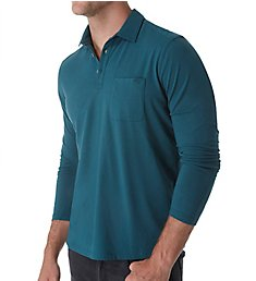 Tommy Bahama Tropical Sueded Sands Long Sleeve Polo T220115