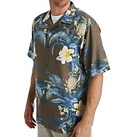 Tommy Bahama Island Zone Shut The Frond Door Silk Shirt T313609