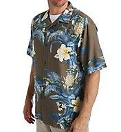 Tommy Bahama Island Zone Shut The Frond Door Silk Shirt T313609