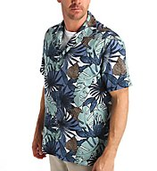 Tommy Bahama Remy Retro Silk Cotton Button Down Shirt T313821