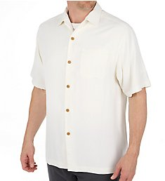 Tommy Bahama Havana Herringbone Button Down Camp Shirt T314422