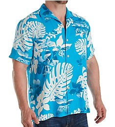 Tommy Bahama Aloha Fronds Silk Button Down Shirt T316699