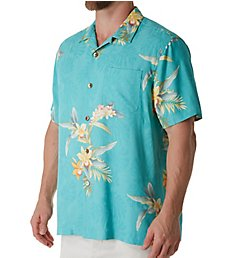 Tommy Bahama Open Water Blooms Silk Camp Shirt T318937