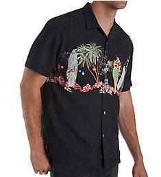 Tommy Bahama Mele Kalikimaka Printed Silk Camp Shirt T320905