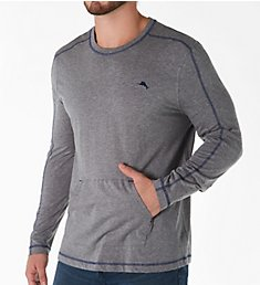 Tommy Bahama Long Sleeve Pull Over with Pocket TB22000