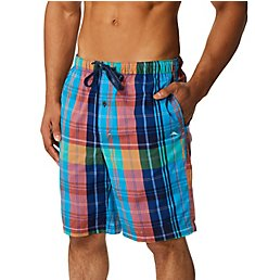 Tommy Bahama Preppy Plaid Yarn-Dye Woven Lounge Short TB31923