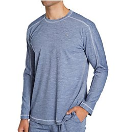 Tommy Bahama Wicking Melange Plait Ottoman Pullover TB52124