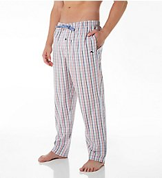 Tommy Bahama Stripe Plaid Cotton Woven Pant TB82002