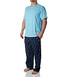 Tommy Bahama Tossed Multi Marlin Print Knit Pant Set tb91501