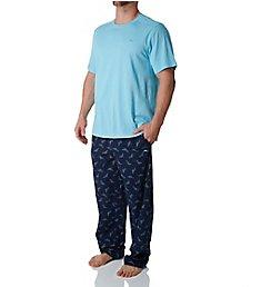 Tommy Bahama Tossed Multi Marlin Print Knit Pant Set tb91501