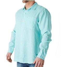 Tommy Bahama Sea Glass Breezer Long Sleeve Linen Shirt TR310622