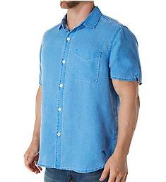 Tommy Bahama Sea Glass Breezer Short Sleeve Linen Shirt TR310623