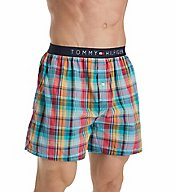 Tommy Hilfiger Printed Woven Boxer 09T3154