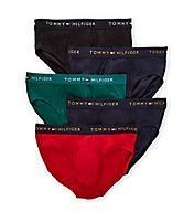 Tommy Hilfiger Cotton Classics Hip Brief - 5 Pack 09TF008