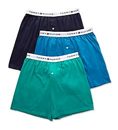 Tommy Hilfiger Classic Fit Knit Boxers - 3 Pack 09TK019