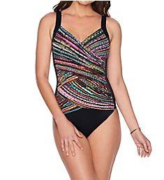 Trimshaper City Lights Randi Slimming One Piece Swimsuit 6527132