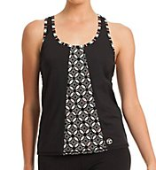 Trina Turk Sal Harbour Draped Back Tank TR50530