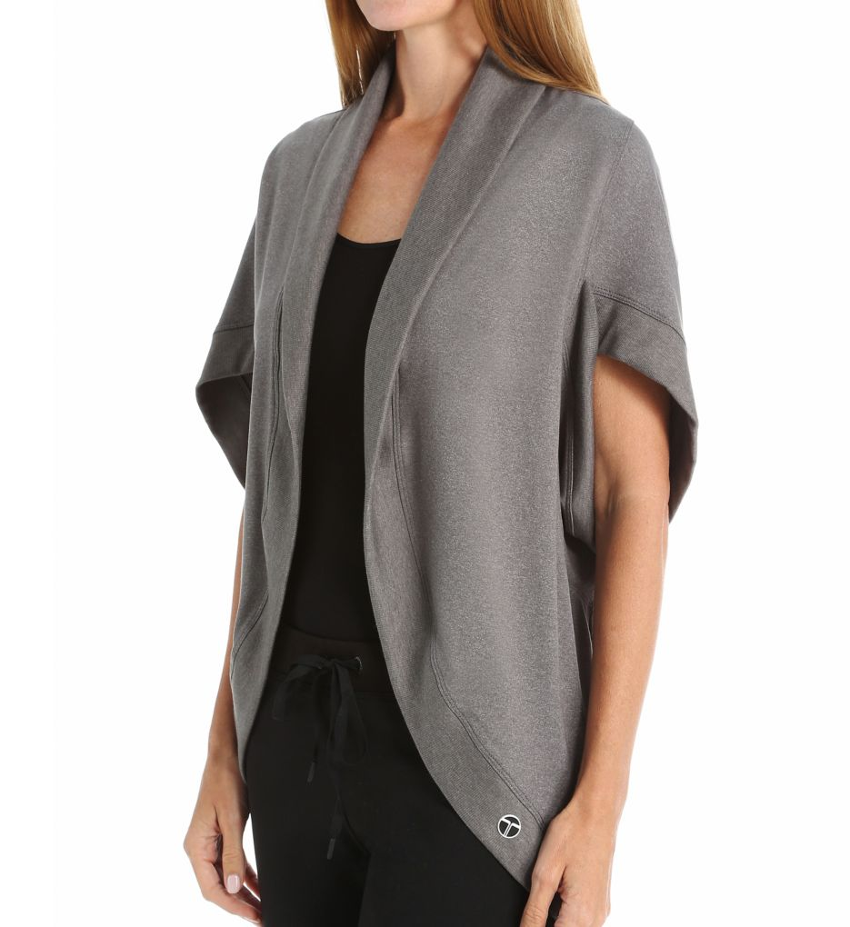 Trina Turk Quilted Layering Pieces Kimono Jacket TR5VN60