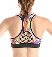 Trina Turk Copa Cabana Sports Bra with Macrame Back TR65C55