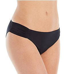 Trina Turk Getaway Solids Shirred Side Hipster Swim Bottom TT8BF90