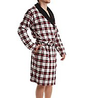 UGG Kalib Plaid Woven Fleece Robe 1014466