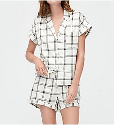 UGG Amelia Plaid Short Set 1092615