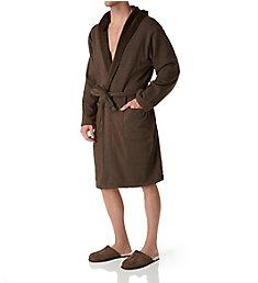 UGG Brunswick Double Knit Hooded Fleece Robe UA4099M