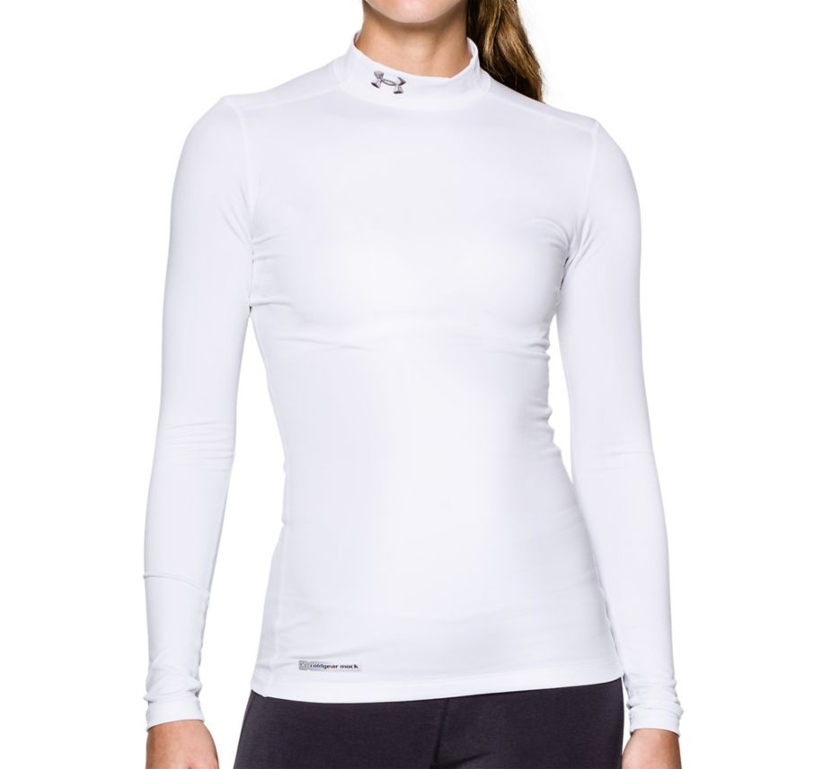 Under Armour UA ColdGear Fitted Mock Long Sleeve Shirt 1215968