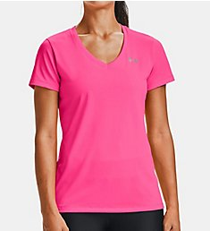 Under Armour UA Tech Solid V-Neck Short Sleeve T-Shirt 1255839