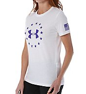 Under Armour UA Freedom Heatgear Logo Short Sleeve Tee 1260331