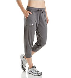 Under Armour UA Tech HeatGear Cuffed Hem Jogger Capri 1273497