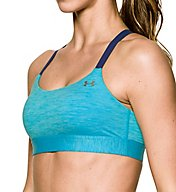 Under Armour Armour Eclipse Heather Mid Impact Sports Bra 1287838