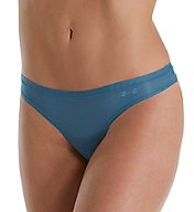 Under Armour UA Pure Stretch Sheers Striped Thong 1290948