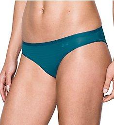 Under Armour Pure Stretch Sheers Striped Bikini Panty 1290949