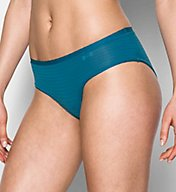 Under Armour Pure Stretch Sheer Striped Hipster Panty 1290950