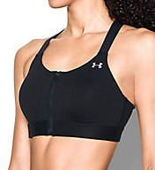 Under Armour Armour Eclipse High Impact Zip Front Sports Bra 1293829