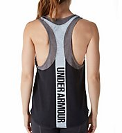 Under Armour UA Charged Cotton Mesh Wordmark Tank 1297871