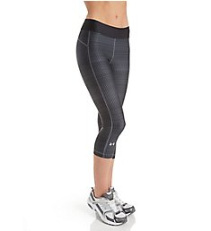 Under Armour UA HeatGear Armour Printed Compression Capri 1297906