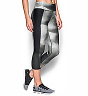 Under Armour HeatGear Fly By Printed Compression Capri 1297934