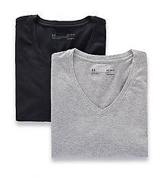 Under Armour Cotton Stretch V-Neck T-Shirts - 2 Pack 1300002