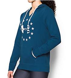 Under Armour UA Freedom Logo Lightweight Favorite Fleece Hoodie 1301230