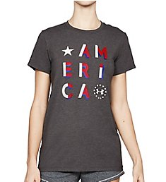 Under Armour UA Freedom Charged Cotton America Crew Neck Tee 1305248