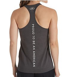 Under Armour UA Freedom Charged Cotton USA Racerback Tank 1305249