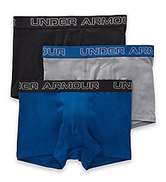 Under Armour Charged Cotton 3 Inch Boxerjocks - 3 Pack 1306508