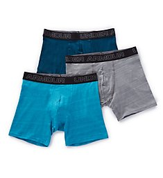 Under Armour Charged Cotton 6 Inch Fashion Boxerjocks - 3 Pack 1311170