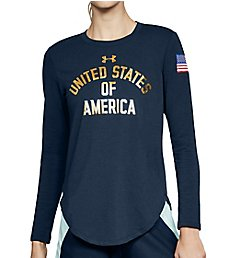 Under Armour Top Step Foil Long Sleeve Tee 1315632