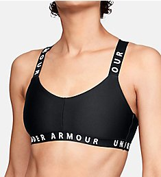 Under Armour Wordmark Strappy Low Impact Sports Bra 1325613