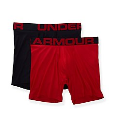 Under Armour Tech 6 Inch Boxerjocks - 2 Pack 1327415